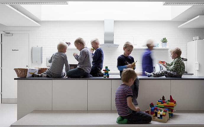 Stimulating children with school design and architecture